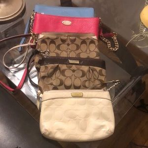 Coach 5 piece lot set